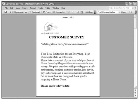 reading layout word 2003 changing document views show me microsoft office word