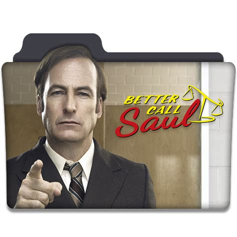 Tv Series Better Call Saul better call saul tv series folder icon v3 by dyiddo on