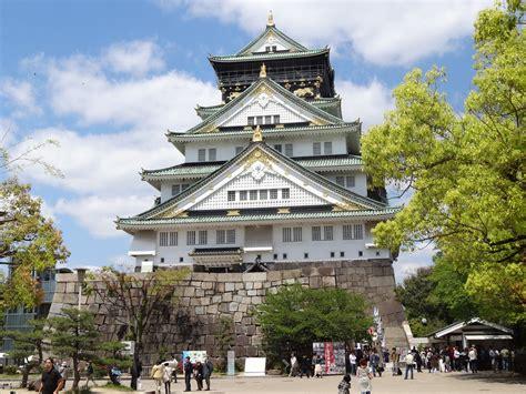 osaka castle the legendary palace of osaka japan
