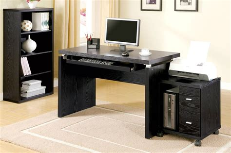 Black Wooden Computer Desk Black Wood Desk Computer Beautiful Black Wood Desk All Office Desk Design