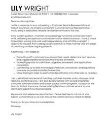 cover letter customer service representative customer service representative cover letter exles
