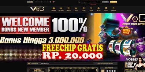 freechip gratis  deposit rp  ribu  vobbet