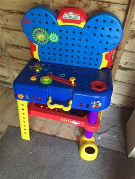mickey mouse work bench mickey mouse clubhouse tool bench for sale in cabinteely