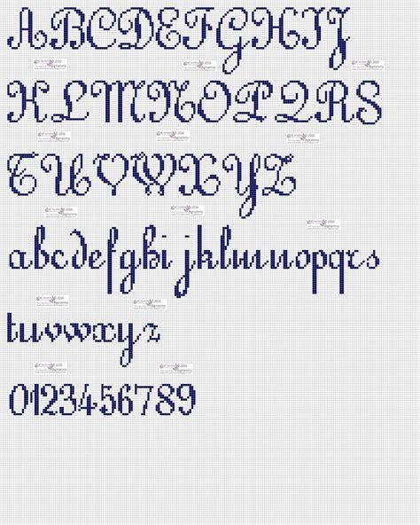 lettere alfabeto punto croce corsivo amorevitacrocette punto croce alfabeti in corsivo