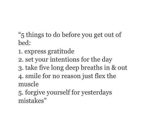 how to make yourself get out of bed poems on twitter quot 5 things to do before you get out