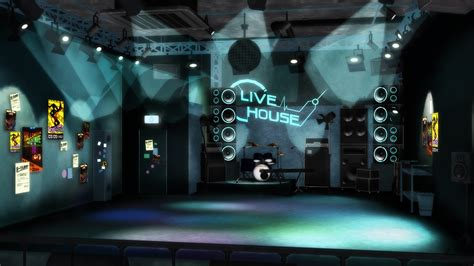 live house mmd stage pdf 2nd live house stage dl by luiz7429 on