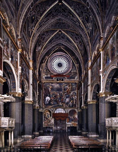Frescoes in the cremona cathedral 1520 22