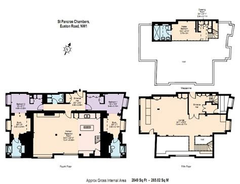 penthouse apartment floor plans floor plan st pancras penthouse apartment in london