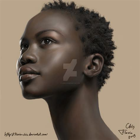 black woman paintings portraits black woman portrait by florin chis on deviantart
