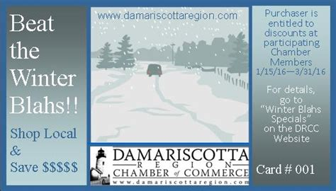 Beat The Winter Blahs by Beat The Winter Blahs Raffle At Damariscotta Early Bird