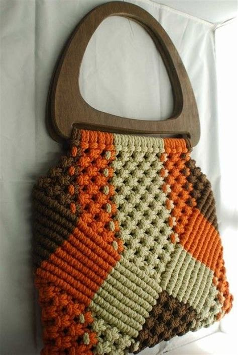 How To Make A Macrame Purse - diy macrame bag ideas diy ideas tips
