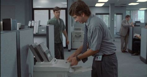 Office Space Pc Load Letter What Does The Printer Keep Telling Michael That Makes Him