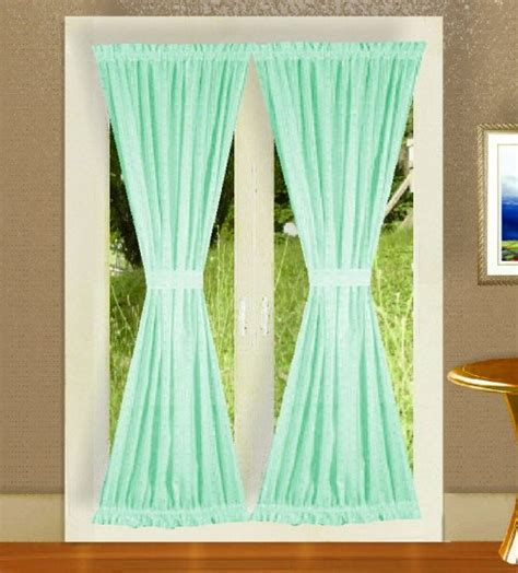 green colored solid mint green colored shower curtain