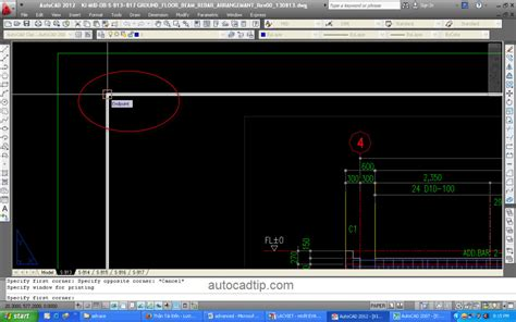 display printable area autocad how to print drawing in autocad