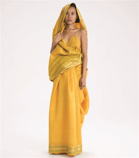 There Are Over A Hundred Ways To Drape Saris But This One