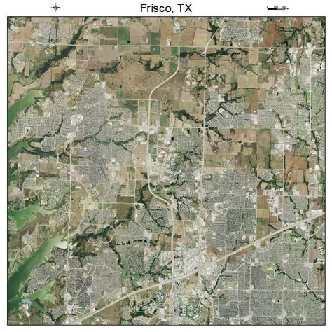 aerial maps texas aerial photography map of frisco tx texas