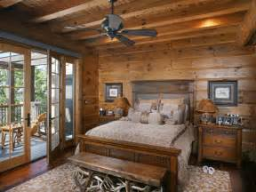 Log Cabin Bedroom Decorating Ideas Rustic Bedrooms Design Ideas Canadian Log Homes