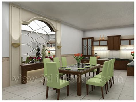 Minibar Kitchen Set Semi Classic dining room interior design free design news