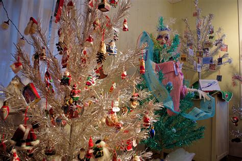 aluminum christmas tree and ornament museum brevard