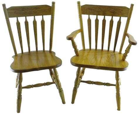 Dining Room Chairs by Amish Colonial Arrow Dining Room Chair