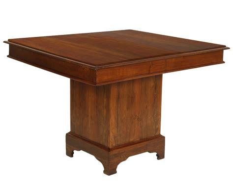 tavolo antico ebay antico tavolo quadrato noce massello periodo 800