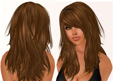 layered long haircut with height on top long layered hairstyles that frame the face and has bangs