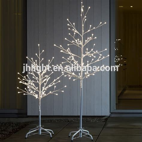 white metal tree with lights twig tree with led lights roselawnlutheran