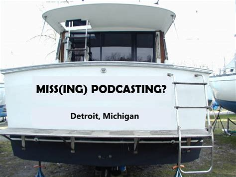missing boat missing the podcasting boat