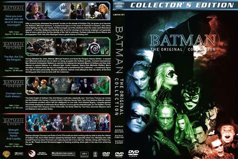 Collections Dvd Original batman the original collection dvd covers 1989 1997 r1 custom