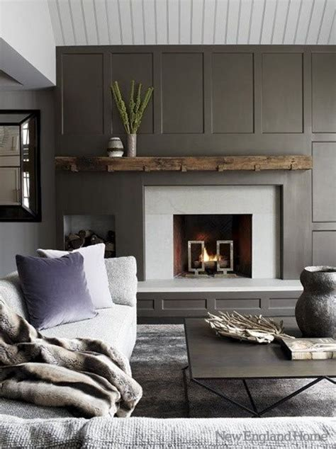 gray paneling gray living room gray paneling home decor pinterest