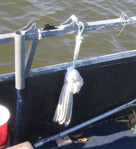 boat anchor paint storage ideas pontoon boat deck boat forum