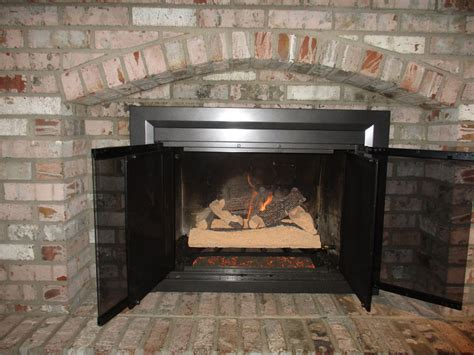 Gas Log Fireplace Installation by Gas Log Installation Before After Photos