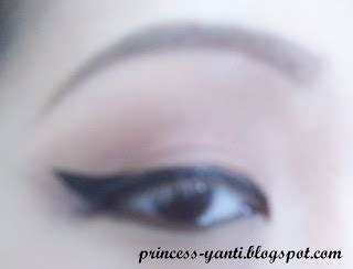 Eyeliner Hitam Gel Martin Ori princess yanti makeup tutorial solekan 60an inspirasi