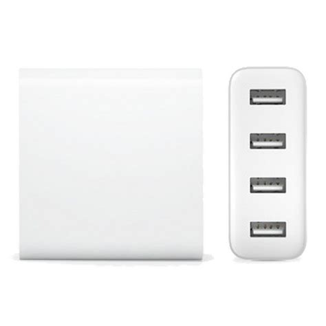 Xiaomi Charger Usb 4 Port 2a White Putih 4 xiaomi cdq01zm 4 usb ports charger adapter white free shipping dealextreme