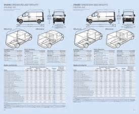 Vauxhall Vivaro Dimensions Page 4 Of Vauxhall Movano Specifications 2006