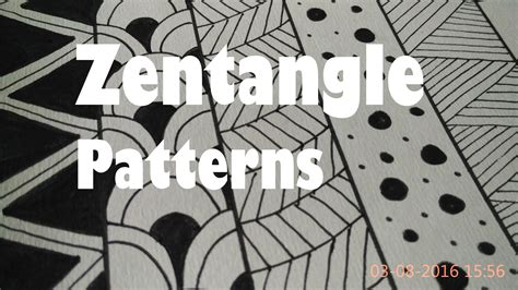 easy pattern drafting for beginners how to draw easy zentangle art patterns for beginners