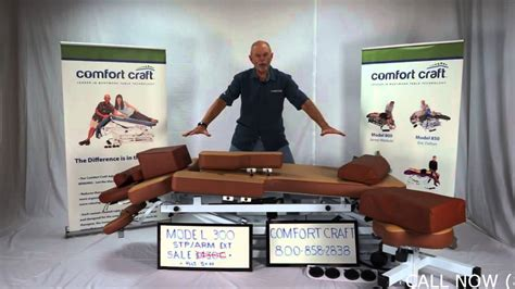 comfort craft massage table jim craft wants to sell you an electric massage table