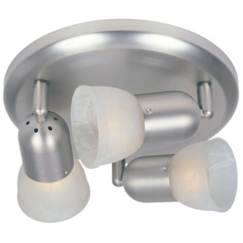 omni 3 light ceiling fixture satin nickel rona