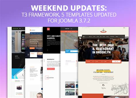 joomla theme t3 release updates on joomla templates magento themes and