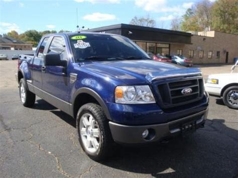 2008 Ford F150 Specs by 2008 Ford F150 Fx4 Supercab 4x4 Data Info And Specs