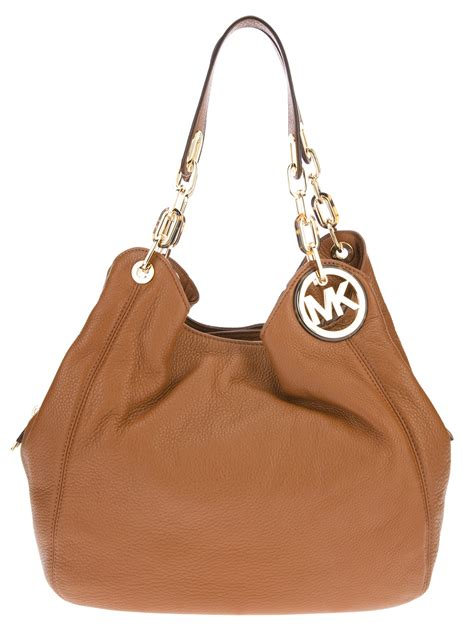 Slouch Bag by Lyst Michael Kors Slouch Tote Bag In Brown