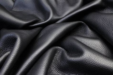 The Leather black leather upholstery hides leather hide store