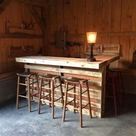 woodworking bar plans recycled wood pallet bar ideas pallet ideas recycled