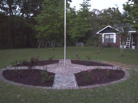 Flagpole Landscaping Ideas Flagpole Garden Gardening Pinterest