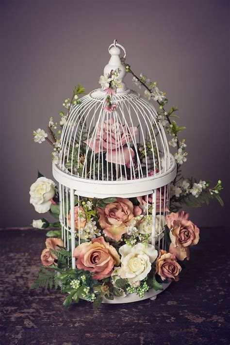 Beautiful Floral Wedding Centerpiece For Guest Tables Or Birdcage Centerpieces Weddings