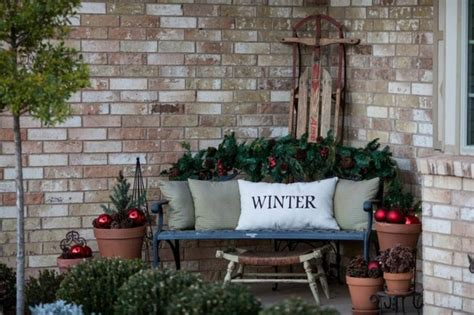 winter home design tips picture of cozy andinviting winter porch decor ideas 24