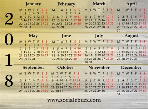 printable calendar pdf 2018 calendar printable template with holidays pdf word