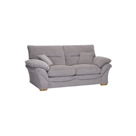two seater sofa bed chloe 2 seater sofa bed in logan fabric grey