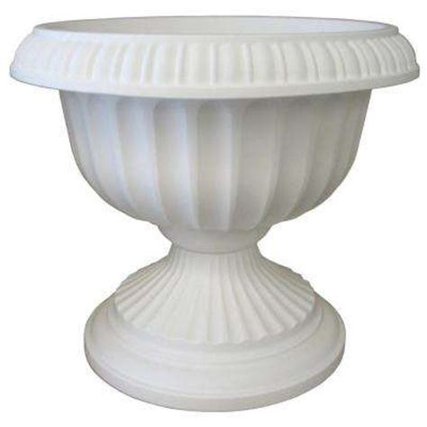 Plastic Planter Urns by Urns Pots Planters The Home Depot