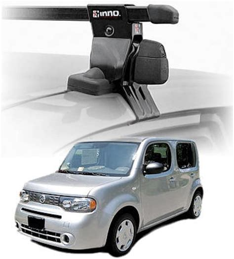 Roof Rack Nissan Cube nissan cube locking roof rack complete system inno